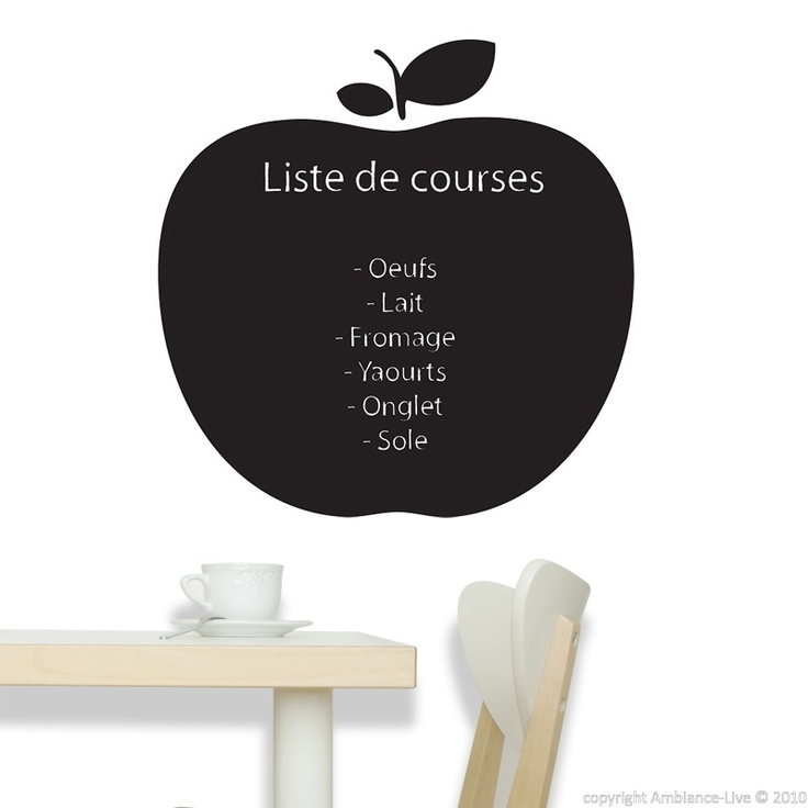 Best Galerie Stickers Ardoise Wall Decals Chalkboard Gallery - Wall decals you can write on