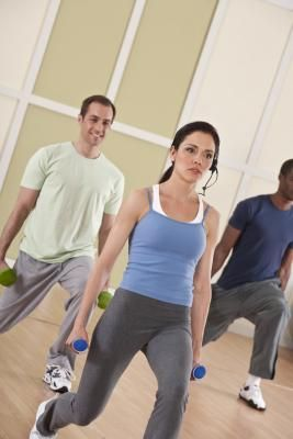 Can Lunges & Squats Increase the Bone Density? by Cindy Killip -- Five key exercises improve bone density in the hip and spine and therefore are effective in the battle against osteoporosis.