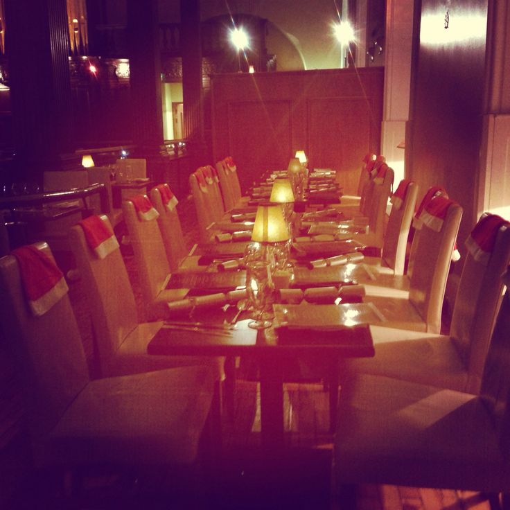 Have you booked your table..
