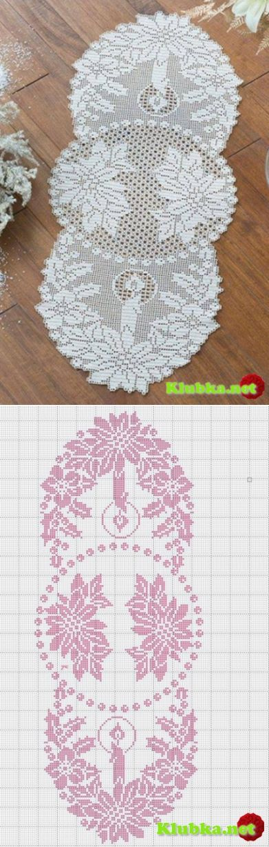 christmas napkin 39 in total about knitting by. Black Bedroom Furniture Sets. Home Design Ideas