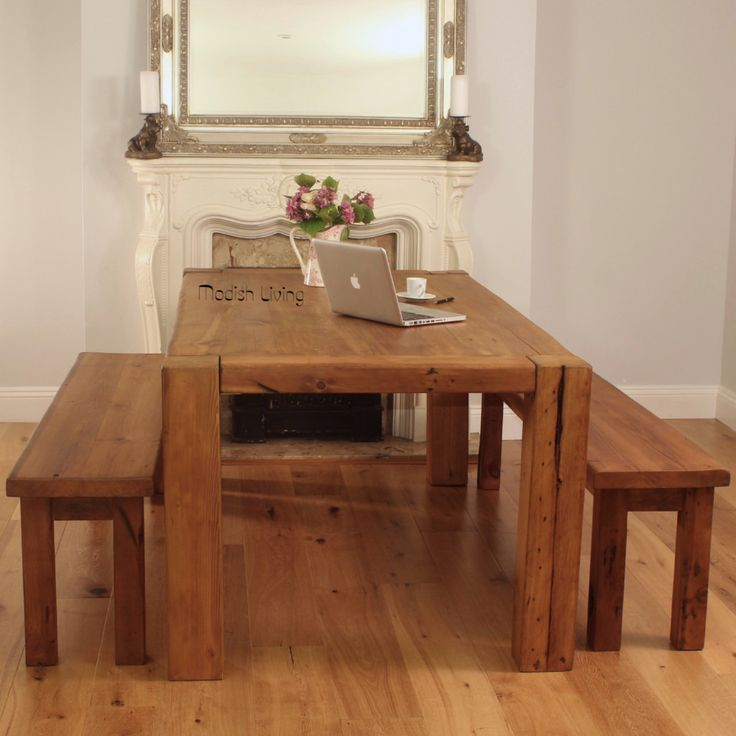 Hoxton Reclaimed Wood Dining Table image 5