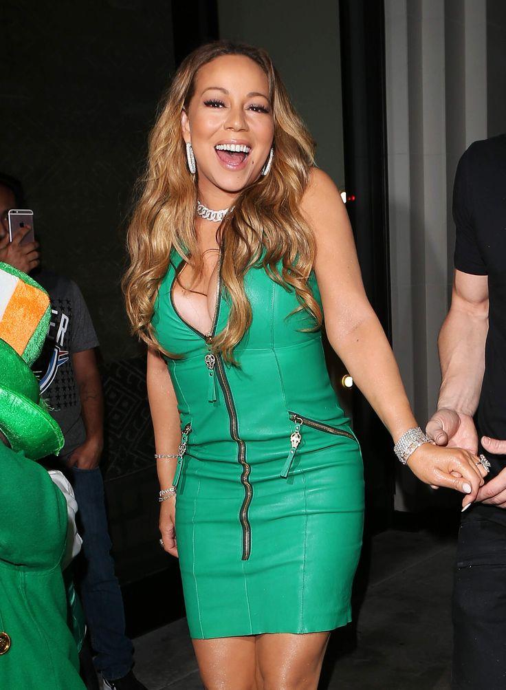 Mariah Carey seen at Catch LA