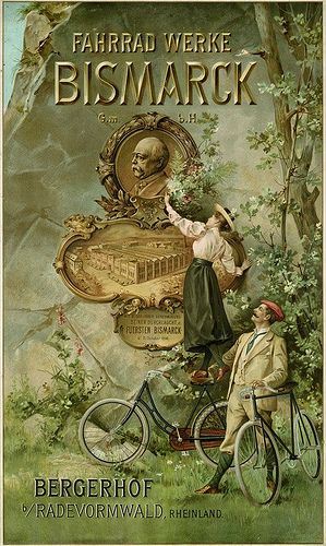 Bismarck Bicycle (1896), via Susanlenox