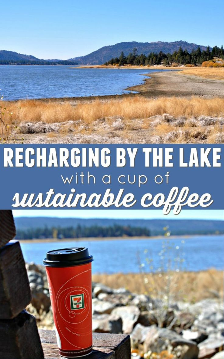 Moms have trouble taking time for themselves, but it's so important! Read about my ritual of sitting by the lake sipping on sustainable coffee to recharge. And learn about the new coffee from @7eleven that's single source and sustainable! AD