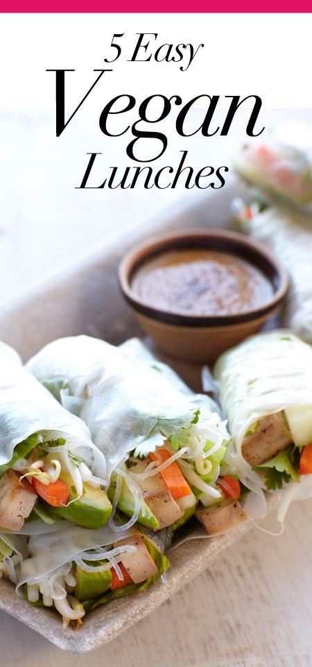5 Vegan Lunches