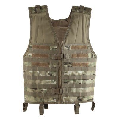 Voodoo Tactical Assault Vest with MOLLE Webbing, FLC, Olive Drab by VooDoo Tactical. $63.81. Whether you choose to buy your assault vest in one of our standard configurations or to design your own, Voodoo Tactical's Universal Assault Vest is the foundation of their tactical vest system. The vest is loaded with MOLLE webbing and can accommodate more than a dozen pouches.