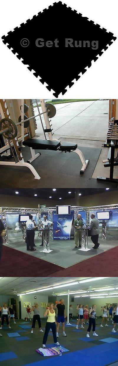 Exercise Mats 44079: 288 Sq Ft Eva Foam Dense Thick Exercise Interlocking Floor Garage Mat Black Eva -> BUY IT NOW ONLY: $186.19 on eBay!