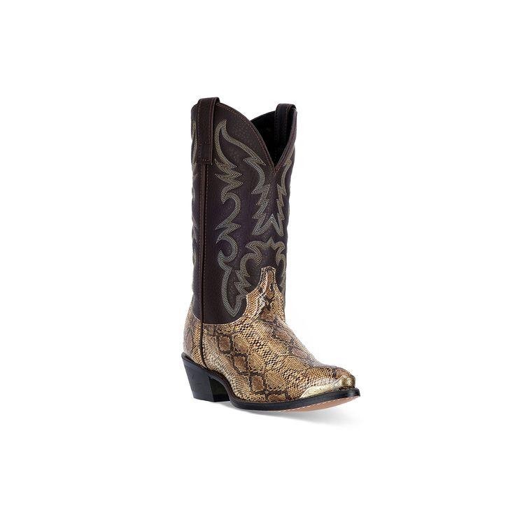 Laredo Monty Men's Cowboy Boots, Size: medium (10.5), Med Brown