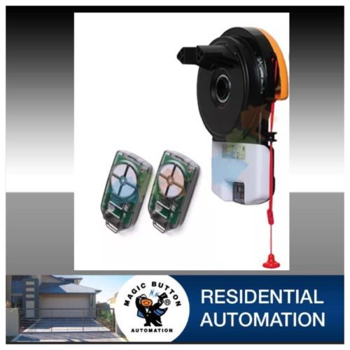 ATA Door Motors Include Two Remote Controls Version 4 by magicbuttonman