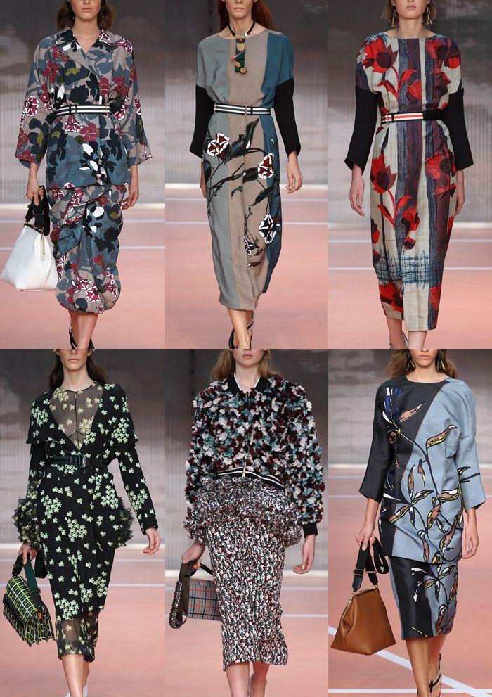 Marni Milan Fashion Week   Spring/Summer 2014   Print Highlights   Part 2 catwalks
