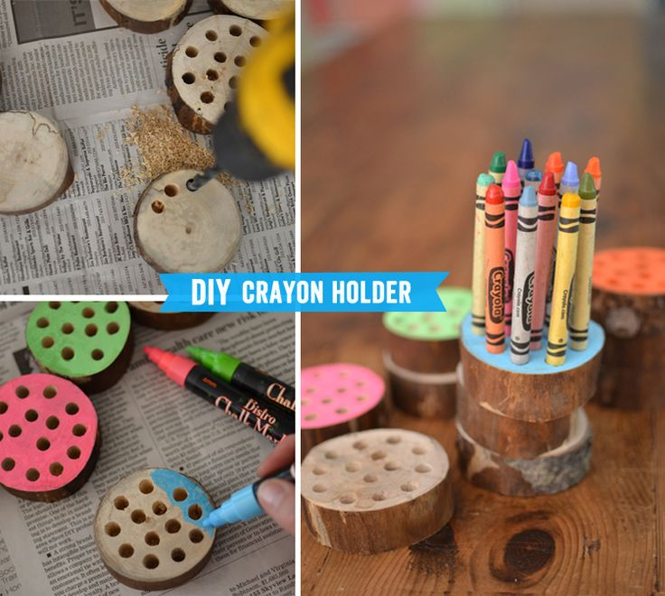 back-to-school art project | artbarblog.comDiy Crayons Pencil, Holders Projects, Fun Crayons Pencil, Crayons Pencil Holders, Back To Schools Art, Crayons Holders, Artbarblog Com, Holders Pencil, Art Projects