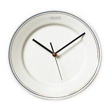 zegar Społem, bizuteria z talerzy