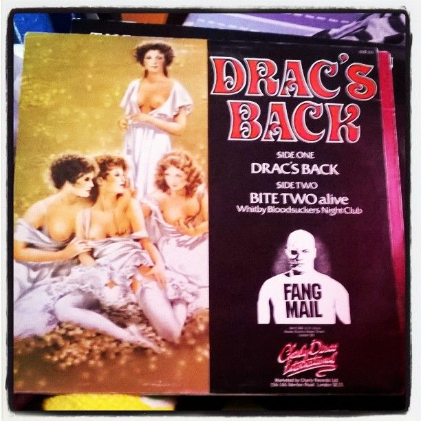 Drac's back #Dracsback by #RedLipstique #album #backcover #Draculasbrides