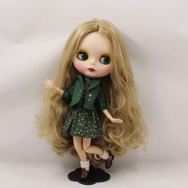 Fortune дней Обнаженная фабрика Блит куклы два набора для выбора розовые волосы куклы и льняные волосы куклы и получили Одежда и обувь Neo купить на AliExpress