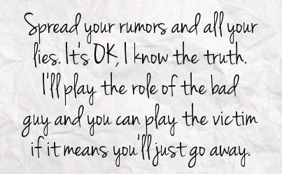 Stop Spreading Rumors Quotes | You can get your favourite quotes as a cute picture for your timeline ...