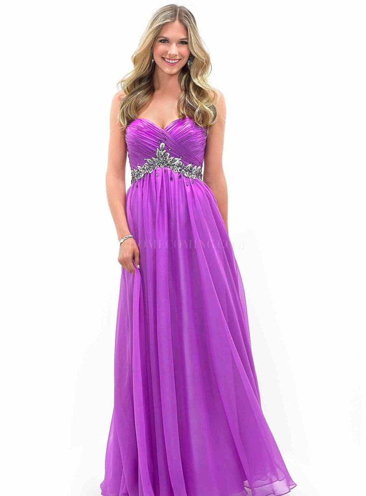 42 best Purple Dresses images on Pinterest | Vestido de baile de ...
