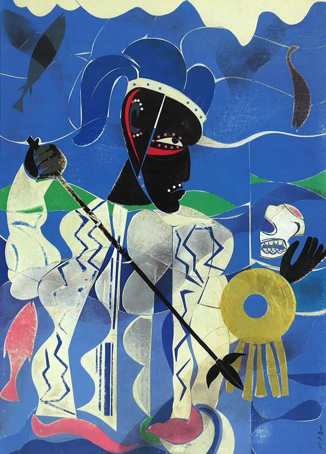 Romare Bearden, collage