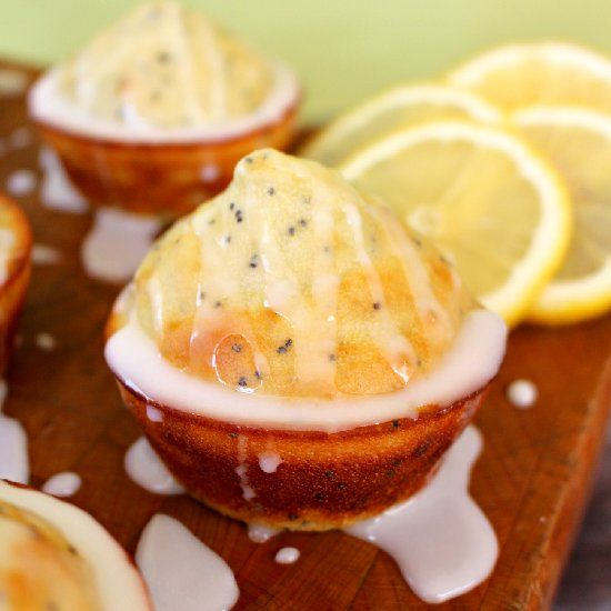 Glazed Lemon Poppy Seed Muffins | The most important meal of the day ...
