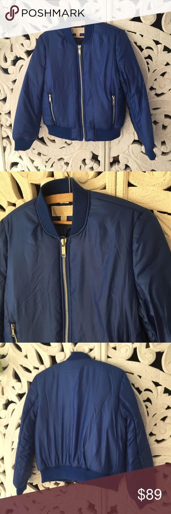 Michael Kors Royal Blue Puffer Jacket Michael Kors Royal Blue Puffer Jacket. Brand new with tags Michael Kors Jackets & Coats Puffers