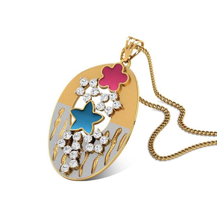 59 best gold cz pendants images on pinterest gold pendant schwanhild gold pendant in 475 grams gold online aloadofball Choice Image