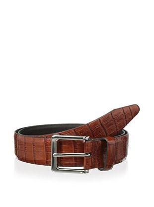 54% OFF Vintage American Belts Men's Martin Embossed Alligator Belt (Tan)