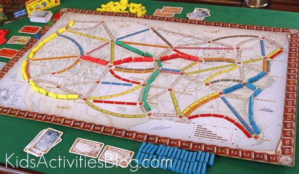 ticket to ride board - Google Search