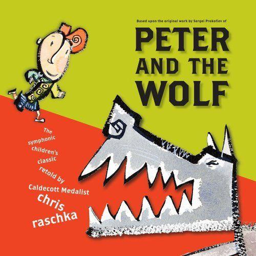 Peter and the Wolf by Chris Raschka et al., http://www.amazon.com/dp/0689856520/ref=cm_sw_r_pi_dp_Urniub0Z9VRPS