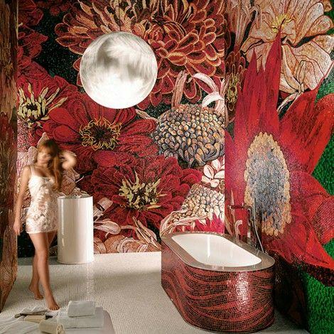 SICIS flower power amazing rock style bathroom