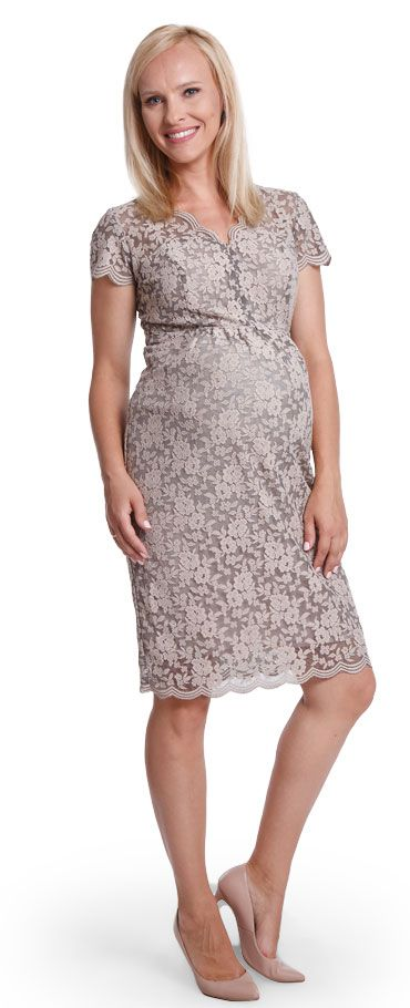 Happy mum - Maternity wear & fashion, dresses, Midnight beige dress.