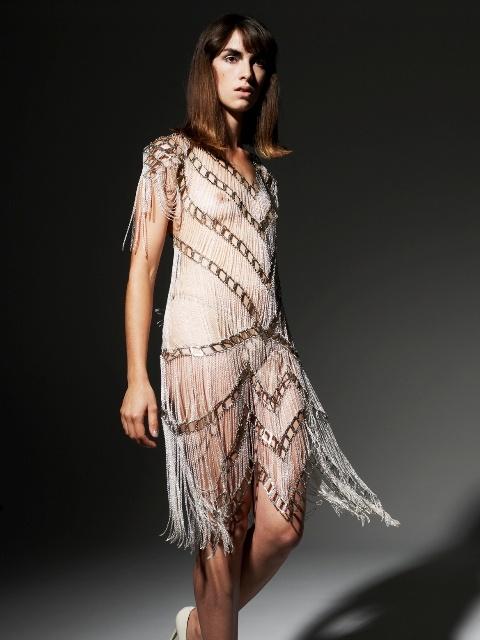 Alexi Freeman x Tessa Blazey - Space-Age Neo Lace Gown