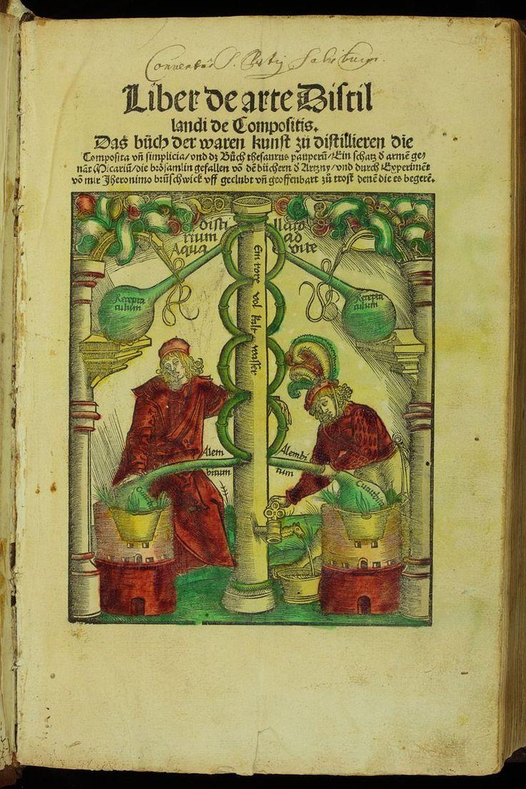 Title page photograph samuel h gottscho s from river house cloud - Le Livre De La Distillation Par Hieronymus Brunschwig En 1512 Cet Apothicaire Et