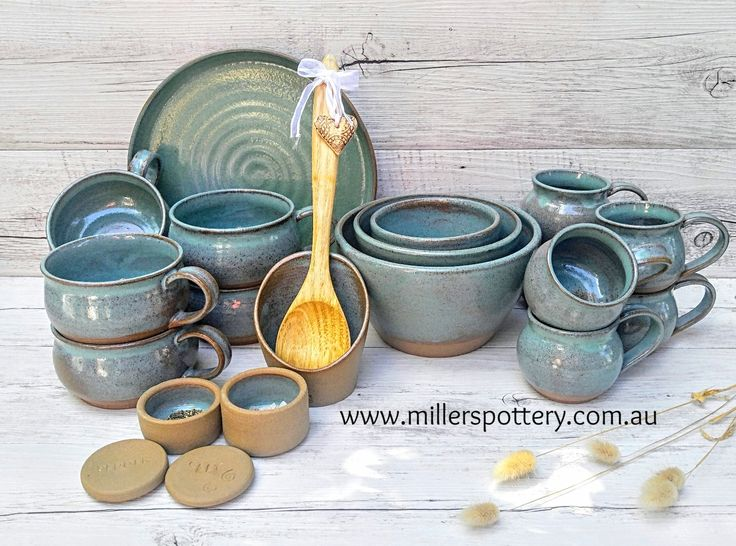 Handmade Ceramics Kitchenware by Miller's Pottery Australia