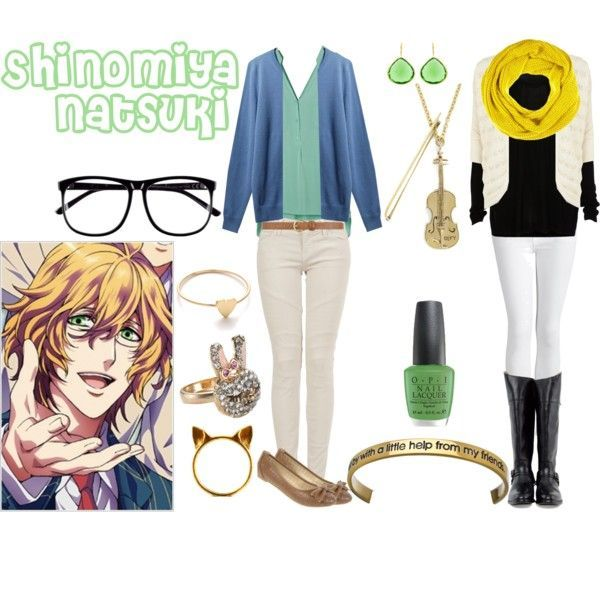 Casual Cosplay Natsuki Shinomiya (Uta No Prince-sama) | ~Anime Inspired Modern Clothing ...
