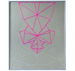 Symmetri nr. 3, paper cut
