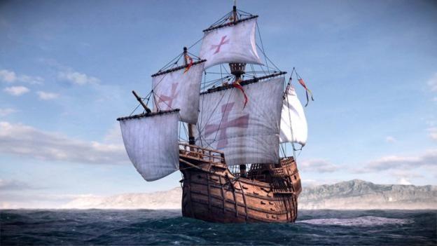 Sensacional hallazgo: Tras mas de 500 años, creen haber encontrado la carabela Santa María de Cristóbal Colón | Notícias TuHistory.com - The History Channel