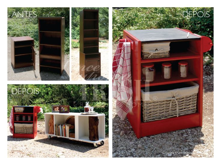 ESTANTE QUELUZ * Before & After * By Once Upon a Trash