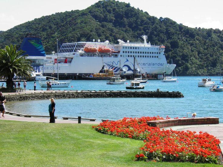 Inter island ferry, Picton, New Zealand