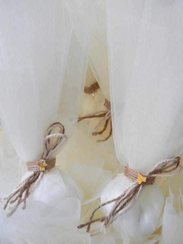Μπομπονιέρα Γάμου - Ορείχαλκος και Γιούτα #μπομπονιέρες #γάμος #ορείχαλκος #γιούτα #wedding #bomboniere #tulle #favors