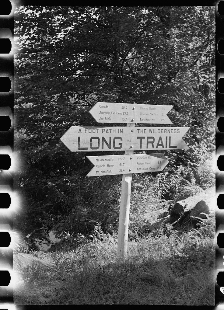 Long Trail, Vt - 272 miles from Canadian border to Mass. I will hike this someday.