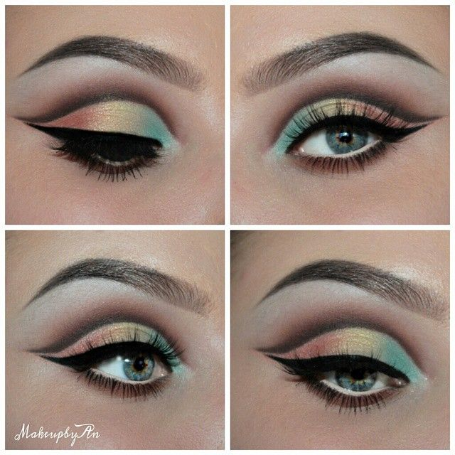 """New look made with the @maya_mia_y eyepalette by @anastasiabeverlyhills  Made a pictorial of this look and a picture with the exact colors I used!  Lashes by @lovelashesbyjoanna """" Adorable Ashley """" use the code """" makeupbyan """" to get 15 % discount"""