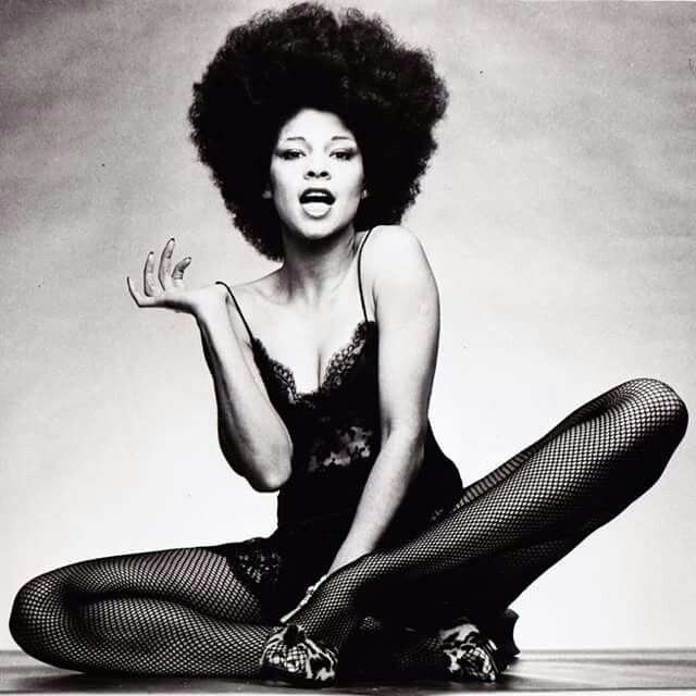 A'int nothing but a nasty gal. Betty Davis.