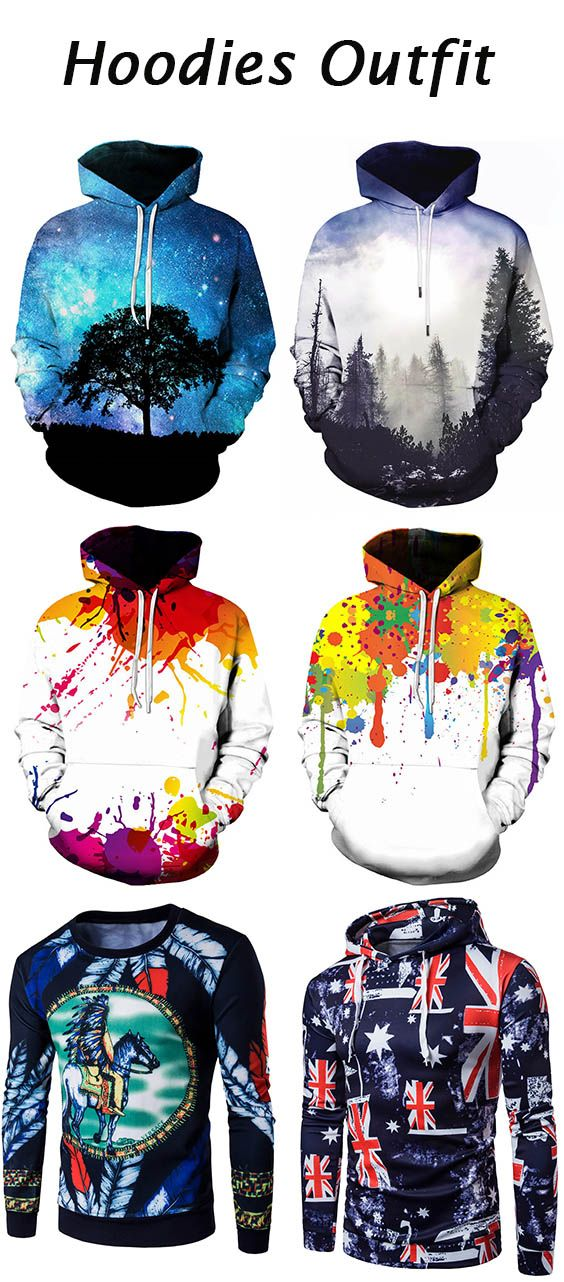 hoodies outfits for men
