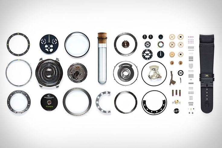 Ressence Type 5: parts //