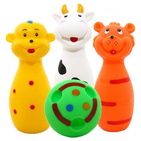 Witajcie,   Są gumowe, wydają dźwięki i nadają się do kąpieli dla dzieci już od urodzenia.   Zestaw Hencz Toys 810 - 3 Kręgle Gumowe do Kąpieli oraz piłeczka. Piszczki malowane są ręcznie nieścieralnymi farbami.  Sprawdźcie sami:)  http://www.niczchin.pl/zabawki-do-kapieli/2257-hencz-toys-810-kregle-gumowe.html  #hencz #toys #kregle #gumowe #zabawki #niczchin #krakow