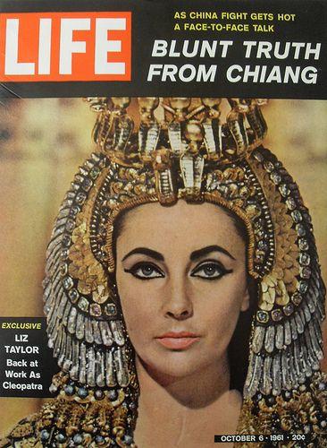 magazine write-up related to cleopatra