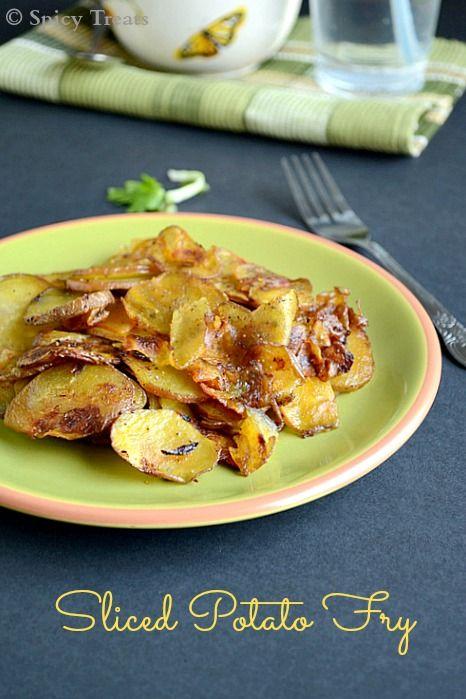 Sliced Potato Fry