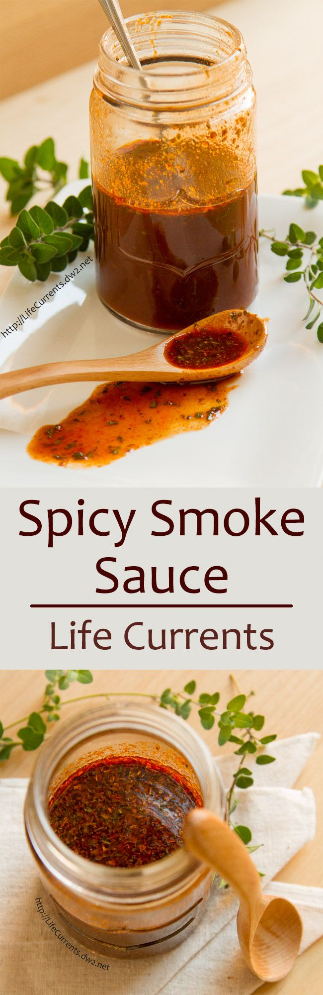 Spicy Smoke Sauce ~~~ Ingredients ~ 1 tsp dried oregano ~ 1 tsp dried parsley ~ 1 tsp smoked paprika ~ ½ tsp cayenne ~ 4 TBS Heinz Chili Sauce ~ 1 TBS olive oil ~ 2 TBS Worcestershire ~ 1 ½ tsp Liquid Smoke ~ ½ tsp Sriracha ~ ¾ cup water ~ ½ tsp Better than Bouillion vegetable broth paste