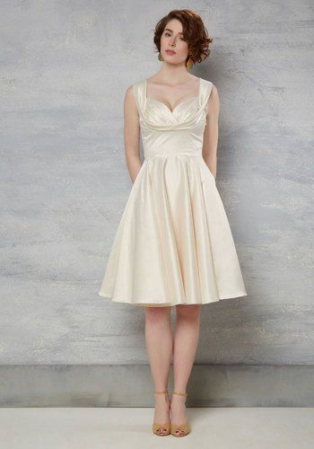 Whether you are looking for a rehearsal dinner dressor a list of bridal shower dresses,there are bridal dressesherefor any future Mrs! Some of these dresses would even work great as short weddi…