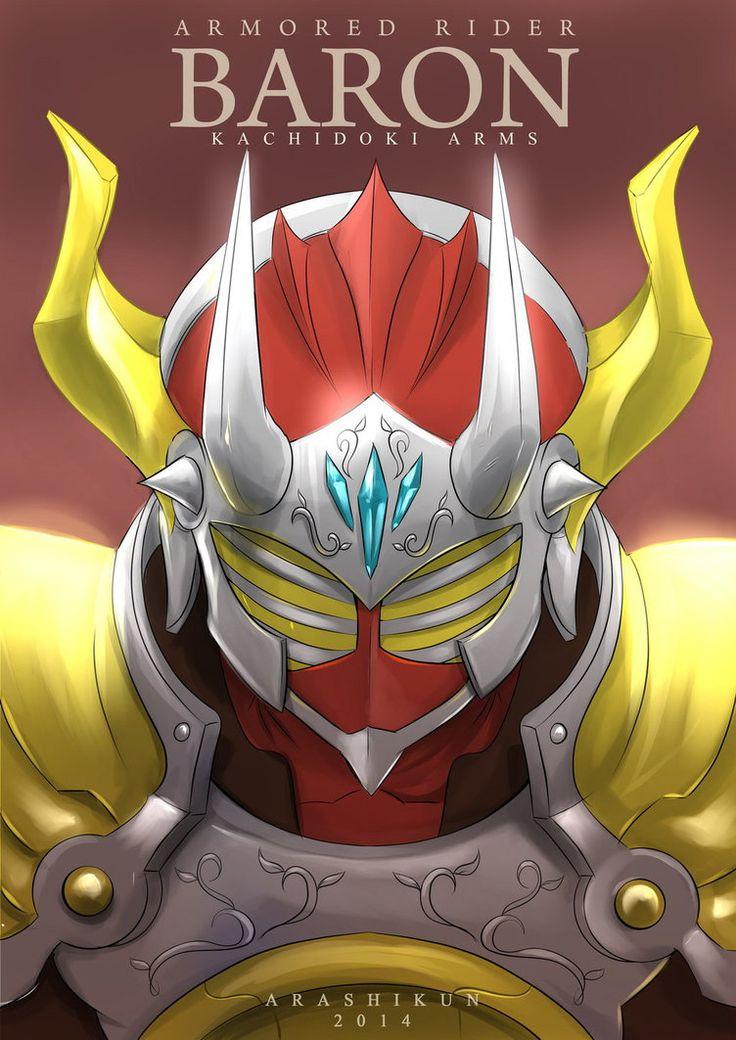 kamen rider baron : kachidoki arms fanart