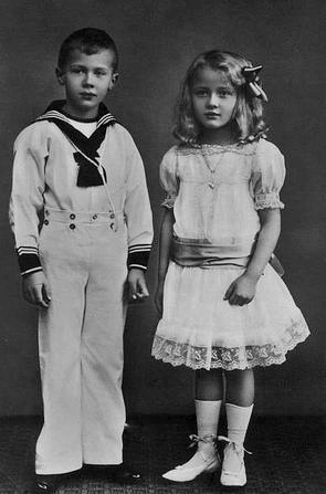 Their Serene Highnesses Prince Friedrich Christian (1906–1983) and Princess Elisabeth (1908–1933) of Schaumburg-Lippe